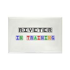 Riveter In Training Rectangle Magnet
