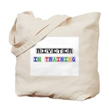Riveter In Training Tote Bag