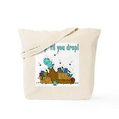 Shop 'Til You Drop (tote bag)