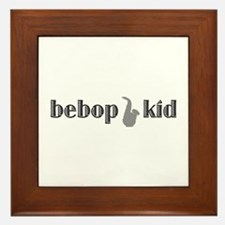 Bebop Kid Framed Tile