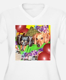 Party Animals Dachshunds Dogs T-Shirt
