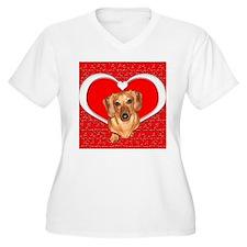 Sweetheart Dachshund Dog T-Shirt