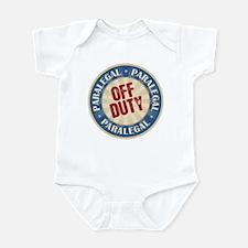 Off Duty Paralegal Infant Bodysuit