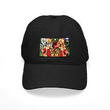 Christmas Bulb Dogs Baseball Hat