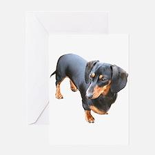 'Lily Dachshund Dog' Greeting Card