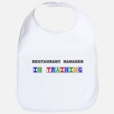 Restaurant Manager In Training Bib