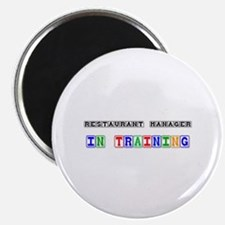 Restaurant Manager In Training Magnet