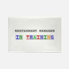 Restaurant Manager In Training Rectangle Magnet