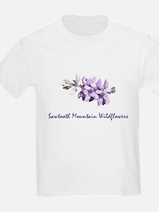 Sawtooth Mountain Wildflowers T-Shirt
