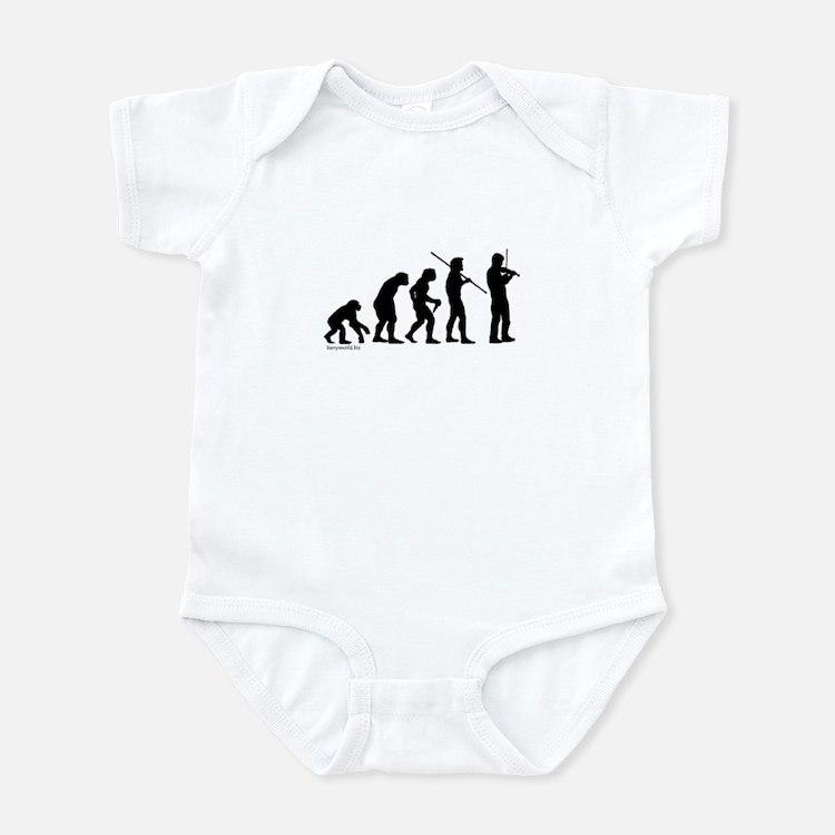 Violin Evolution Infant Bodysuit
