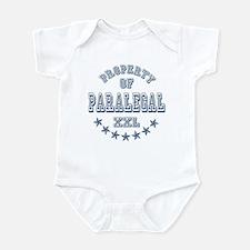 Property of Paralegal Infant Bodysuit