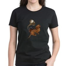 Antiques Dauchshunds Dogs Tee