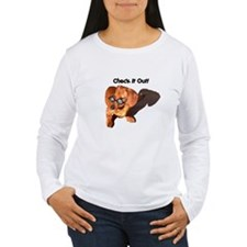 Check it Out Dauchshund Dog T-Shirt