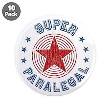 "Super Paralegal 3.5"" Button (10 pack)"