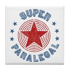 Super Paralegal Tile Coaster