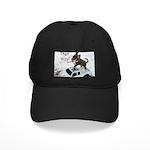 Chihuahua Trucker Black Cap