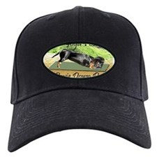 Cute Hiking dog Baseball Hat