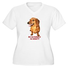 Looking at My Wiener Dachshun T-Shirt