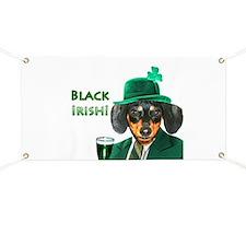 Black Irish Banner