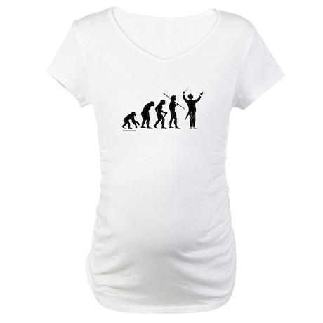 Conductor Evolution Maternity T-Shirt