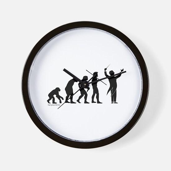 Conductor Evolution Wall Clock