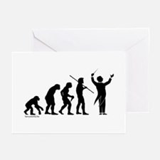 Conductor Evolution Greeting Cards (Pk of 20)