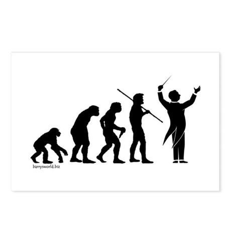 Conductor Evolution Postcards (Package of 8)