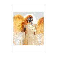 Lily Orange Angel Dachshund Posters