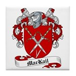 MacKail Family Crest Tile Coaster