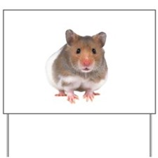 Hamster Yard Sign