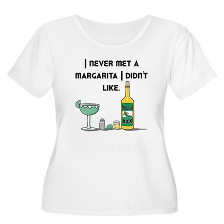 I Like Margaritas Women's Plus Size Scoop Neck T-S