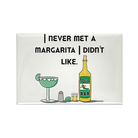 I Like Margaritas Rectangle Magnet (10 pack)