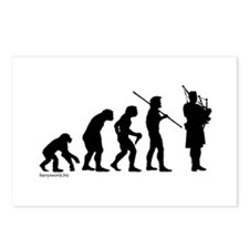 Bagpipe Evolution Postcards (Package of 8)