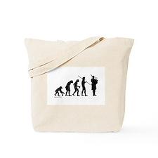 Bagpipe Evolution Tote Bag