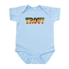 Brook TROUT Infant Bodysuit