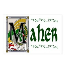 Maher Celtic Dragon Postcards (Package of 8)
