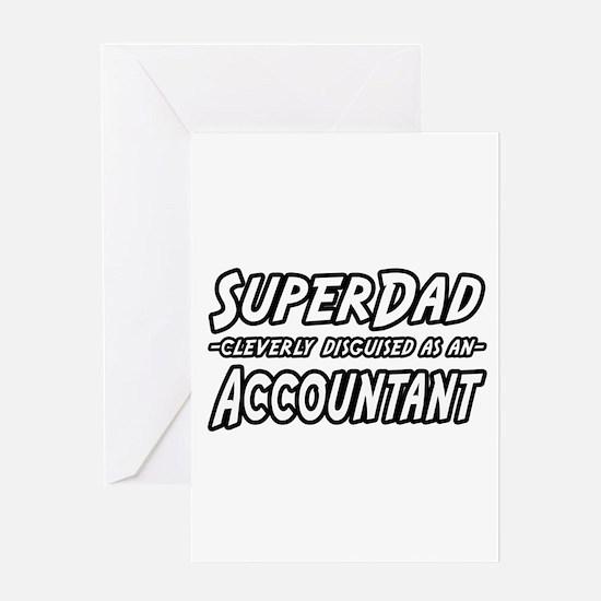 """SuperDad...Accountant"" Greeting Card"