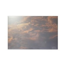 God in the Sky Rectangle Magnet