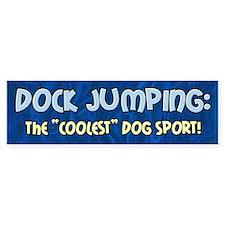 Coolest Dog Sport Bumper Bumper Sticker