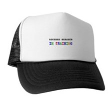 Records Manager In Training Trucker Hat