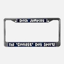 Coolest Dog Sport License Plate Frame