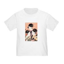 Utamaro's Three Japanese Beau T