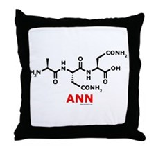 ANN Throw Pillow