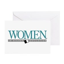 Women in Higher Education Greeting Cards (Package