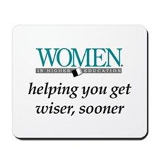 Women in Higher Education Mousepad