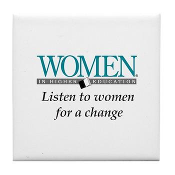 Women in Higher Education Tile Coaster
