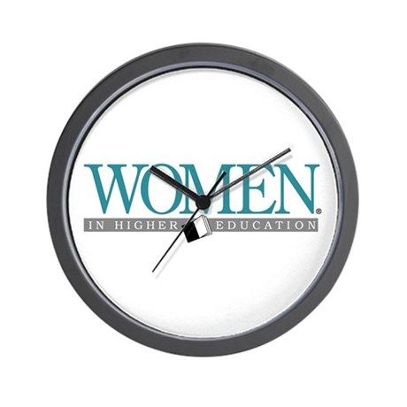 Women in Higher Education Wall Clock