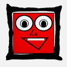 Mr. Pixel Throw Pillow