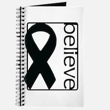 White (Believe) Ribbon Journal