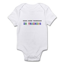 Radio Sound Technician In Training Infant Bodysuit